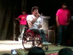 Welington Camargo, show realizado em Canindé (Foto: Genilson Santos)