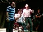 Deputado Augusto Bezerra participa do show gospel